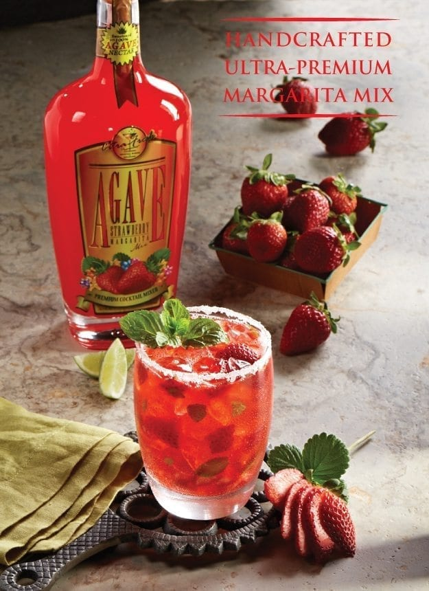 Agave Strawberry Margarita Cocktail Mix Citra Fresh Mixers Margarita Mix Agave Margarita Mixers Agave Nectar Cocktail Recipes Margarita Cocktail Recipes